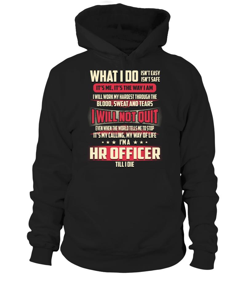 Hr Officer - What I Do