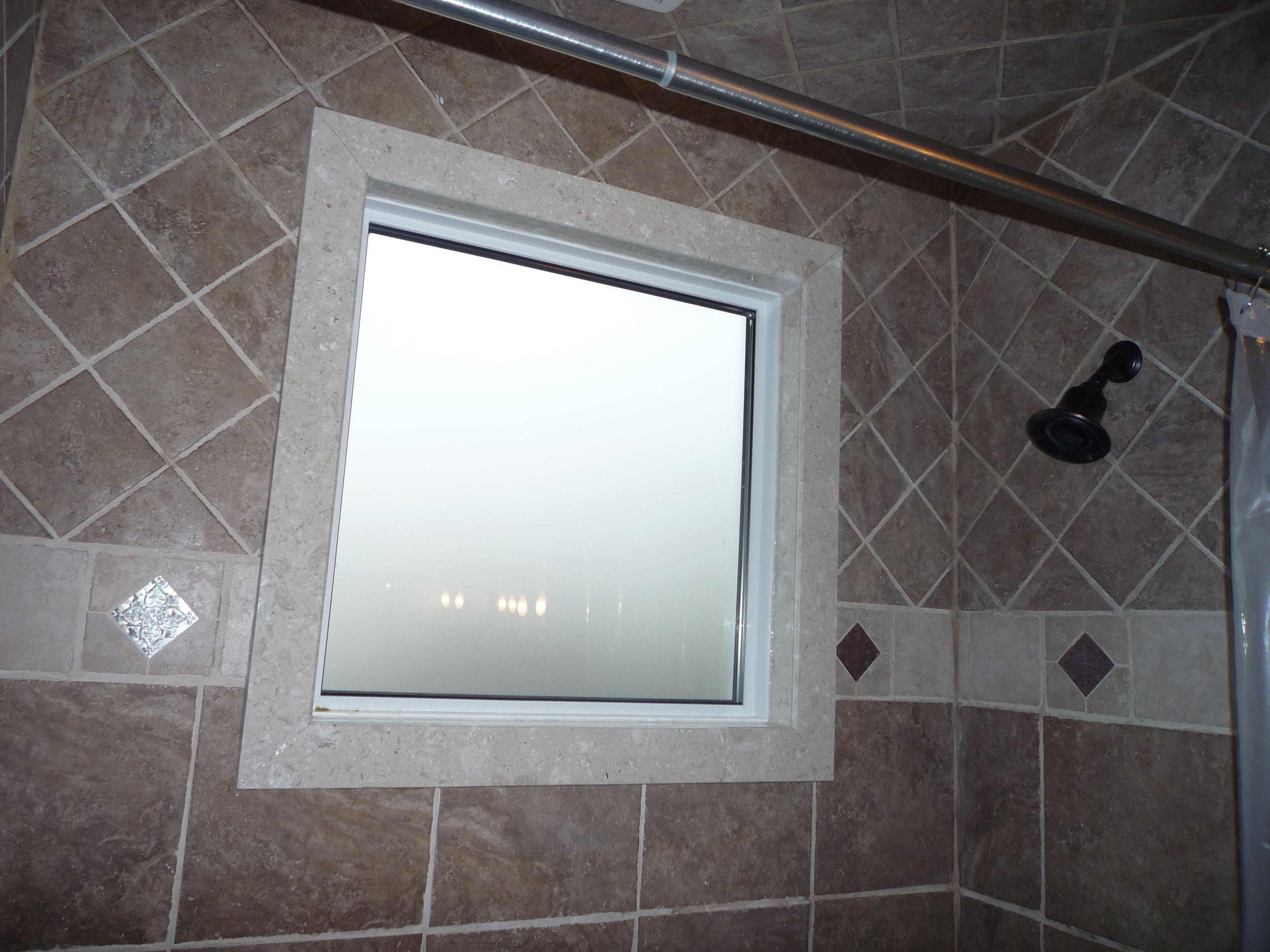 Fenetre Dans La Douche Window In Shower Modern Bathroom Shower