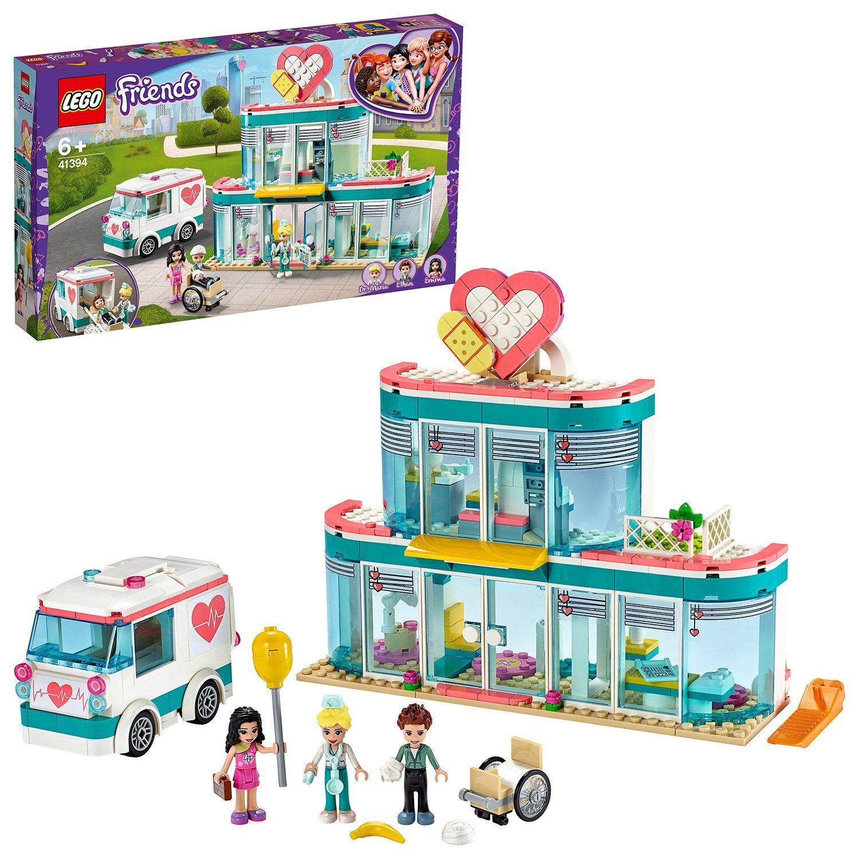 Lego Friends Heartlake City Hospital Playset 41394 In 2020 Lego Friends Buy Lego City Hospital
