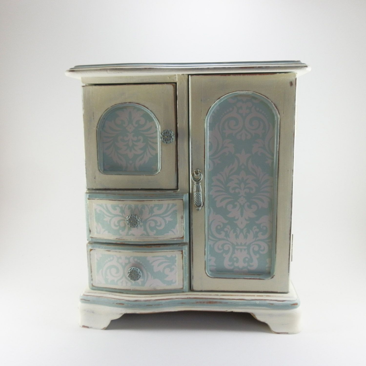 Jewelry Box Girls Ladies Jewelry Chest Jewelry Armoire Annie Sloan