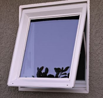 An Awning Window Is Hinged At The Top Of Window   Awning Windows Replacement  Should Be