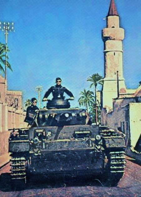 Panzer 3 in Afrika.