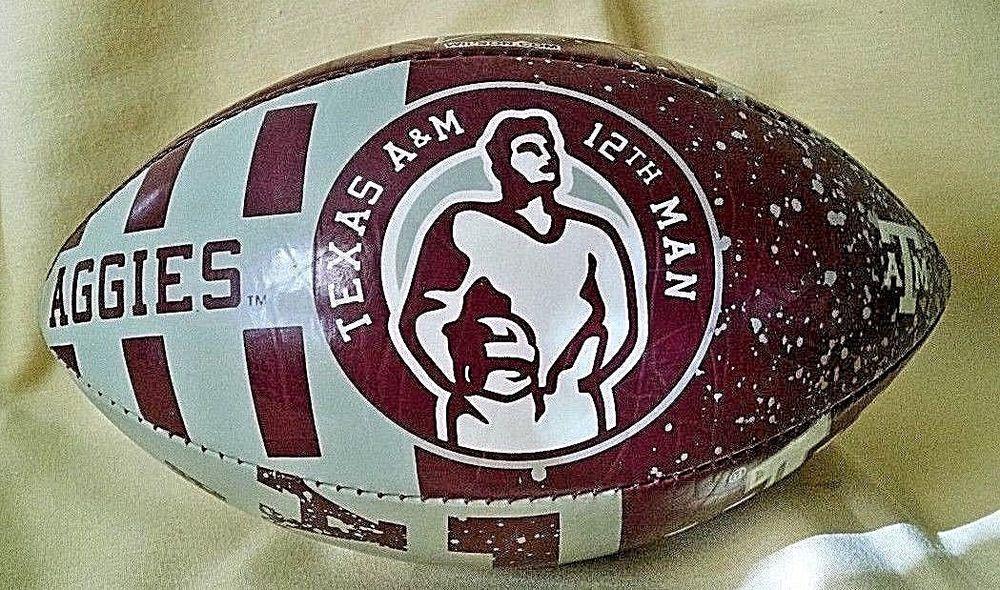 Texas am football ball aggies tam 12th man f1543 hju48 9