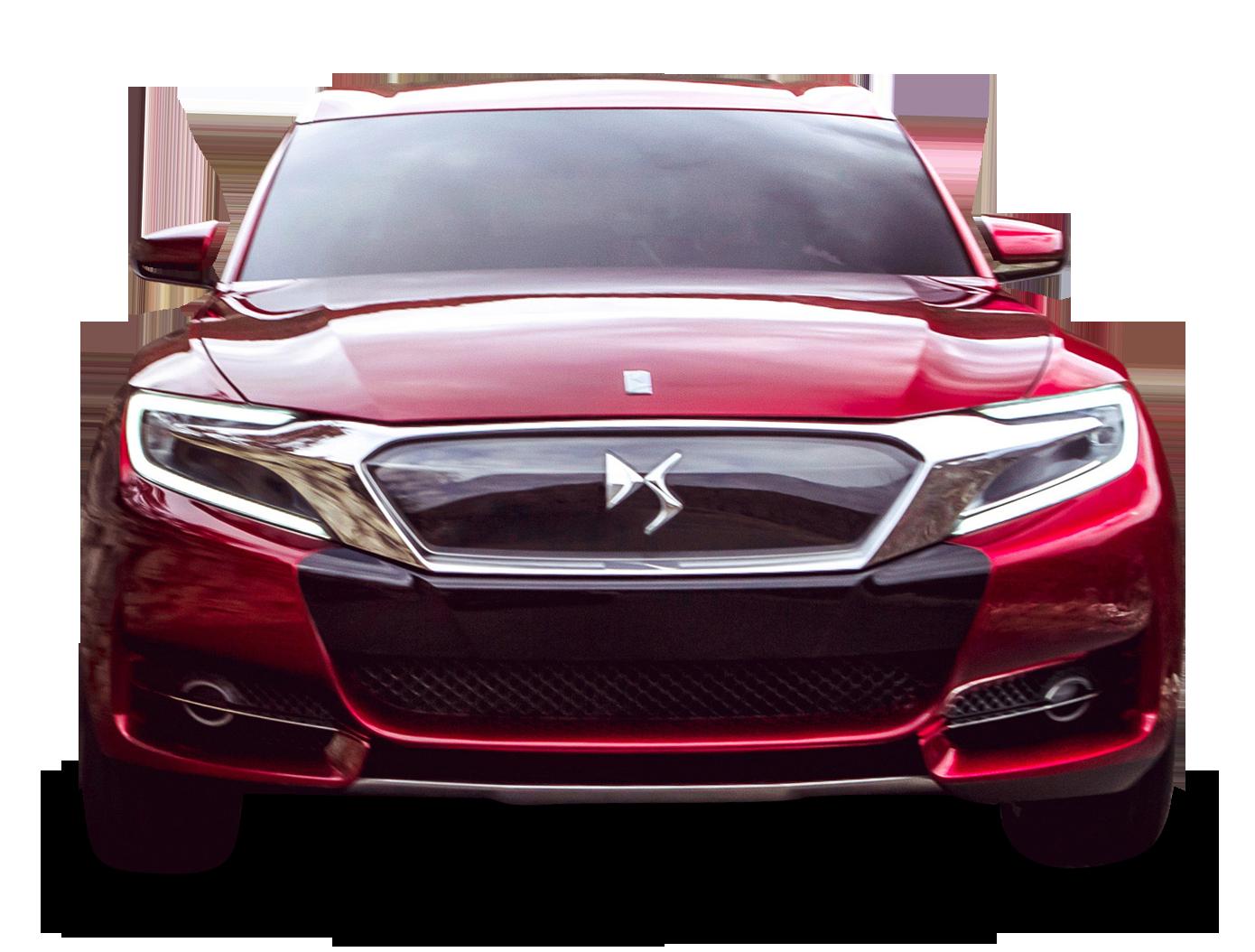 Red Citroen Ds Wild Rubis Front View Car Citroen Ds Citroen Car