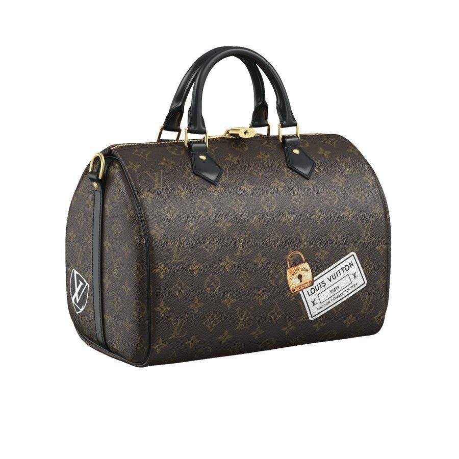 Speedy Bandouliere 30 My Lv World Tour Monogram Personalization Louis Vuitton Louis Vuitton Fendi Bags Handbag