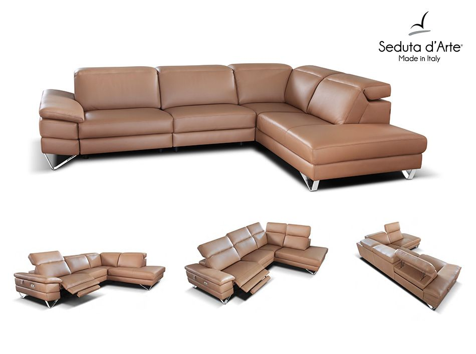 Modern Reclining Sectional Sofa Miller By Seduta Du0027Arte   $4,650.00