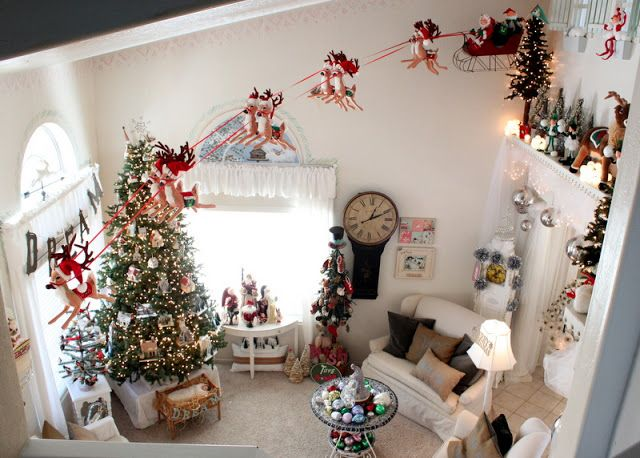 The Wilcock Family 2nd Annual Very Kerri Christmas Christmas Room Christmas Decor Diy Dollhouse Christmas