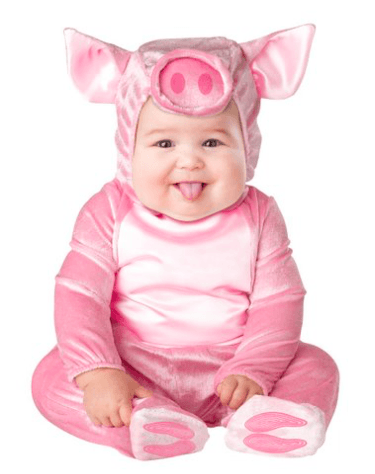 pig costume cutest halloween costumes for baby girl - Halloween Costume For Baby Girls