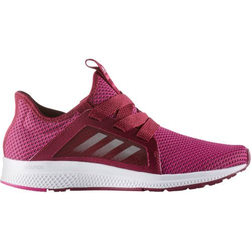 Adidas Women's Edge Lux Running Shoes (Red/White, Size 10.5 ...
