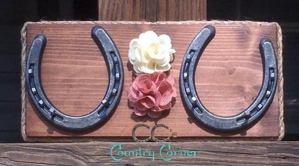 Horseshoe Jewelry Holder Key Holder Organizer CCs Country