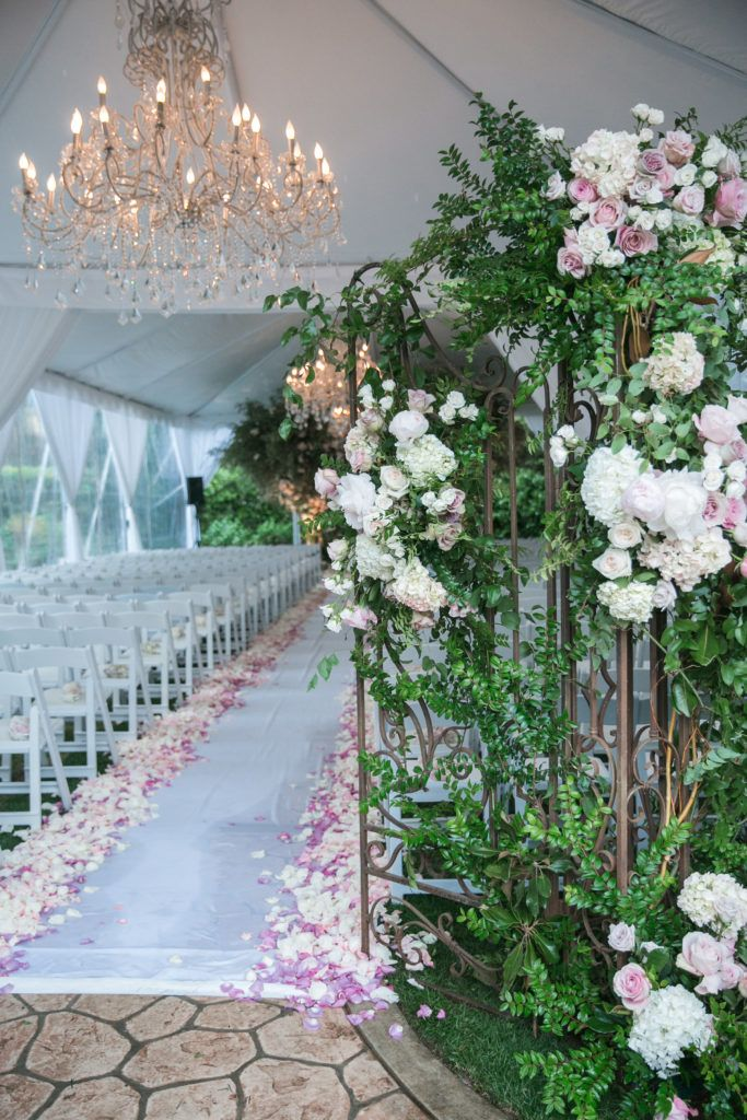 Glamorous Lavender and Blush Beverly Hills Wedding with a Parisian ...