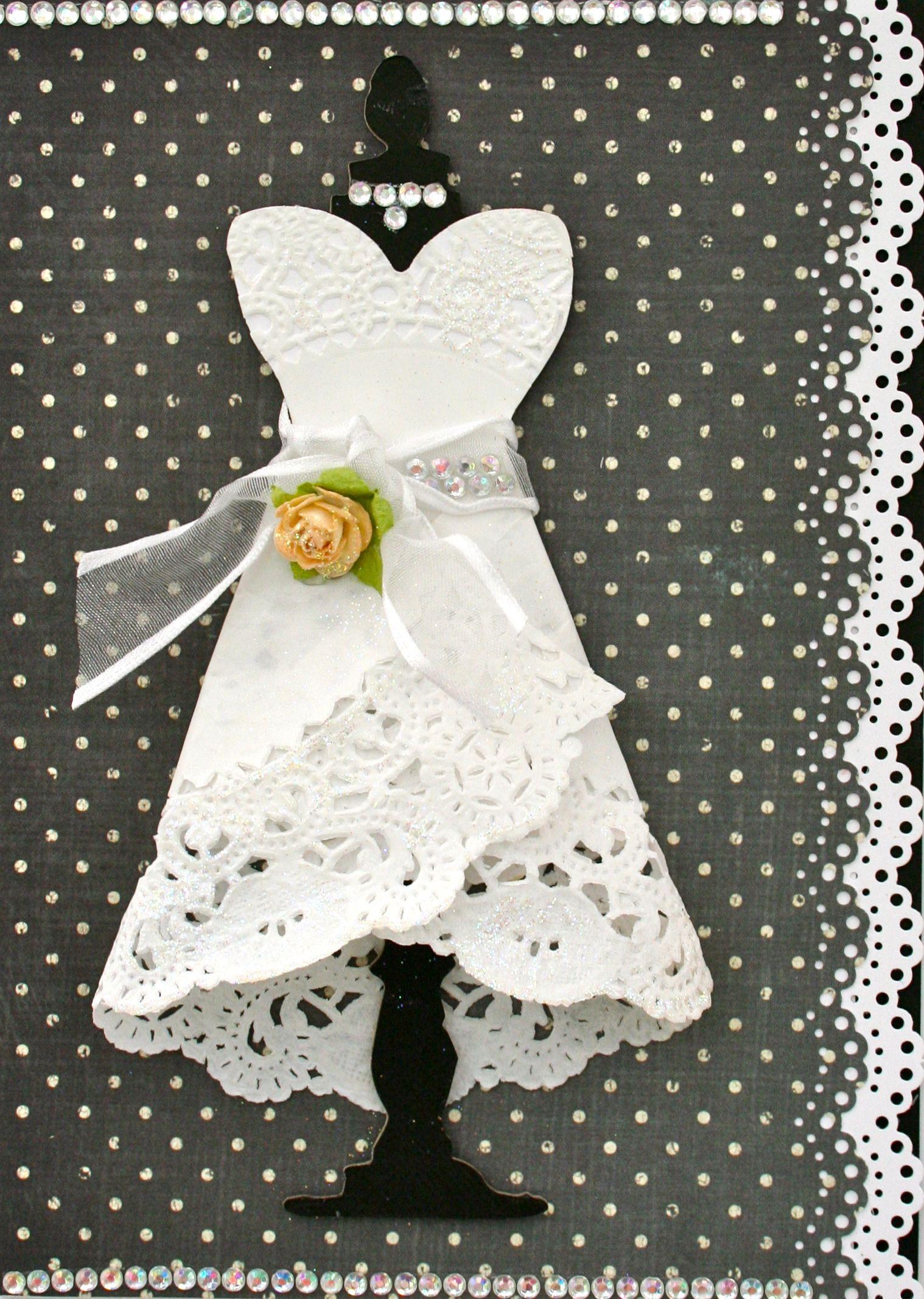 Bridal shower card scrapbook geeting cards pinterest