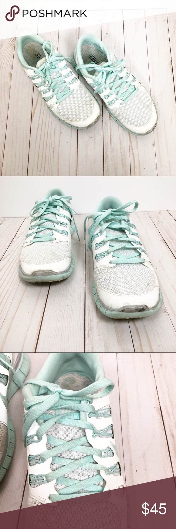 Nike Shoes   Nike Free Run Running Shoes, Size 11.   Color: Blue/White   Size: 11 #nikefreeoutfit