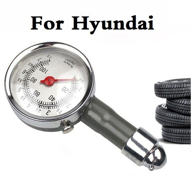 Metal Car Tire Air Pressure Gauge Auto Tester Diagnostic Tool For Hyundai  Getz Grandeur I10 I20 I30 I40 Maxcruz Veracruz XG