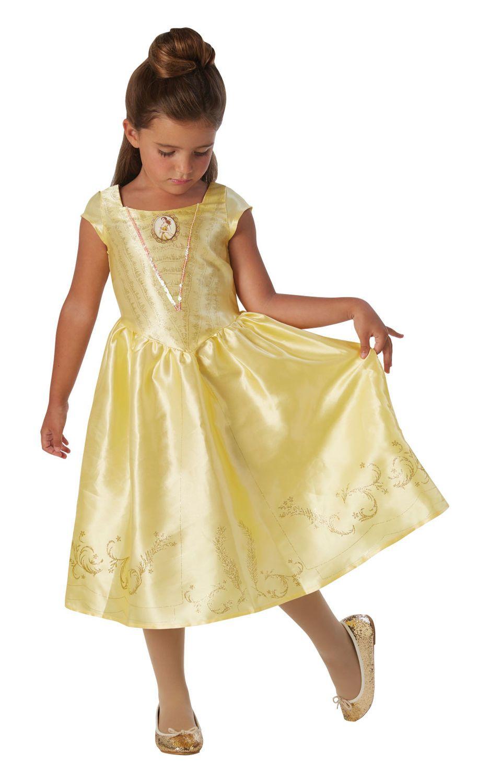 Tämä kauniin keltainen naamiaisasu on todellinen prinsessamekko vailla  vertaa. Mekon helmaa kiertävät 56c1dfeafd