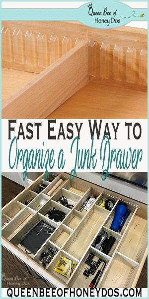 Easy Diy Custom Drawer Dividers Drawer Dividers Diy Drawer Dividers Kitchen Drawer Dividers