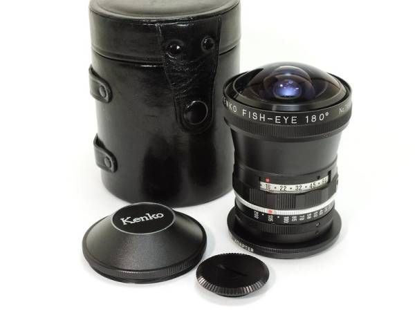 3f4a0b98465e Rare Kenko FISH-EYE 180 ° with a fisheye lens adapter conversion ring θ     Buyee