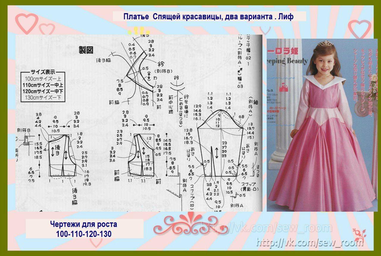 moldes-de-vestidos-de-princesas-para-ninas-2 | Patrones | Pinterest