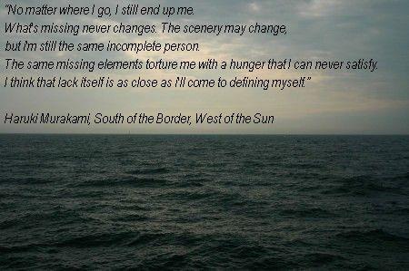 Haruki Murakami South Of The Border West Of The Sun Haruki