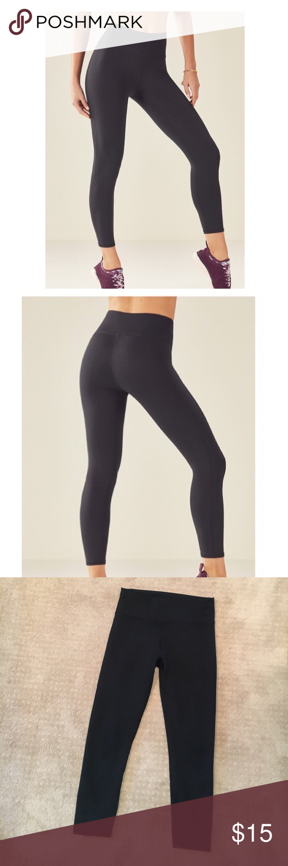 3a07d8087189be Fabletics high-waisted solid powerhold leggings