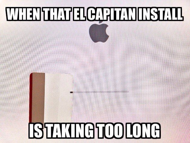 Progress bar meme