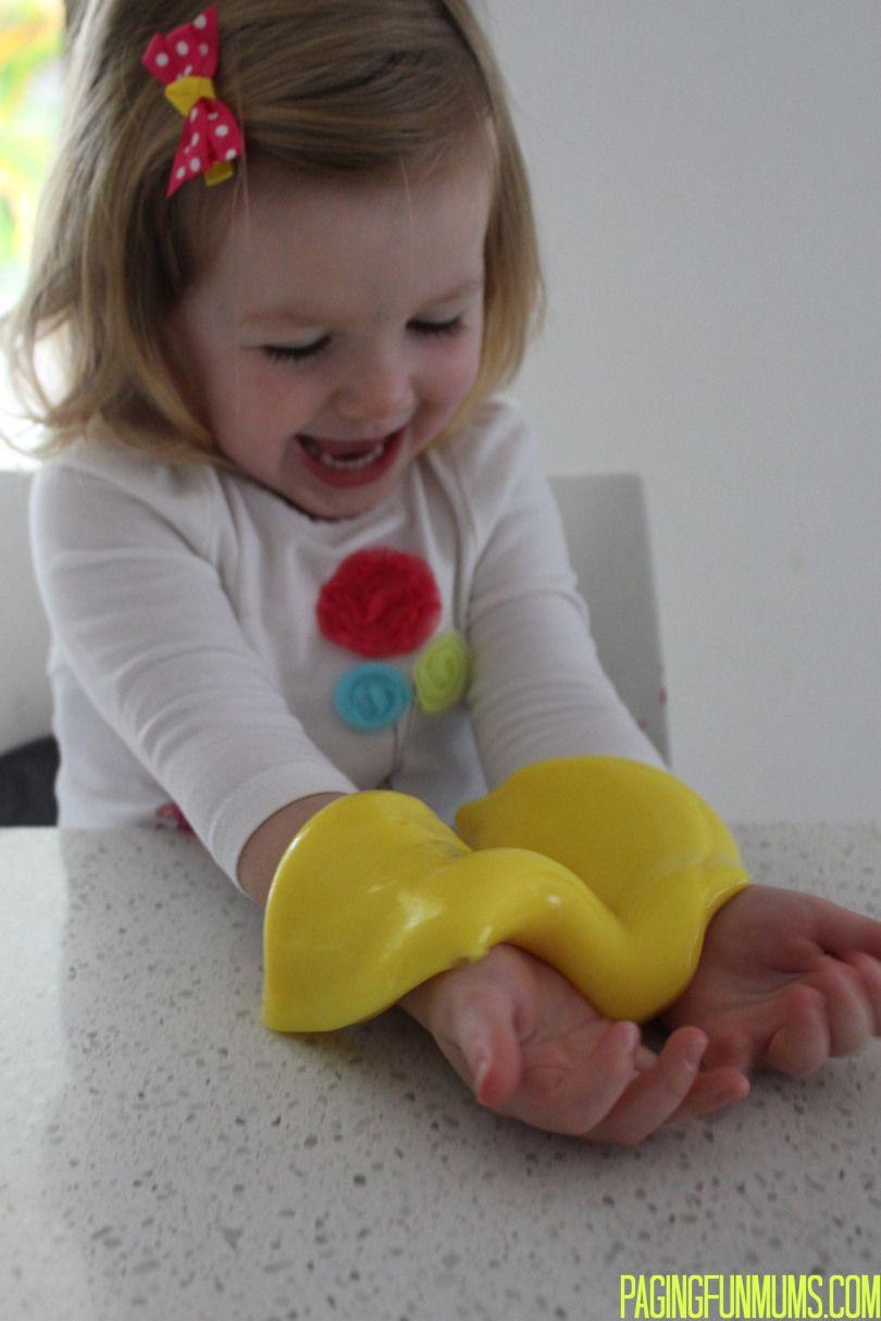 Homemade Silly Putty Homemade silly putty, Silly putty