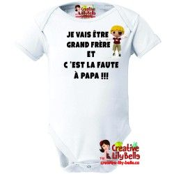 Cache Couche Grand Frere Pirate 3124 T Shirt Shirts Baby Onesies