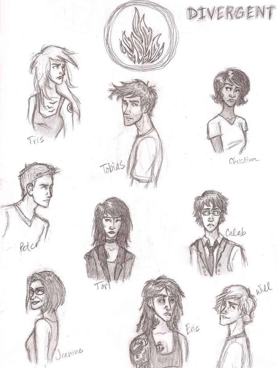 Divergent Character Sheet by Iabri71.deviantart.com on