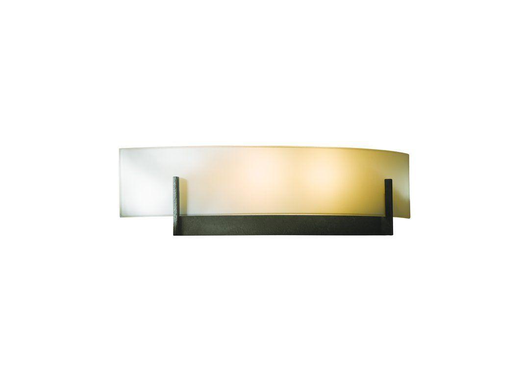 Hubbardton forge light watt ada compliant wall sconce