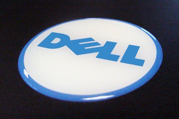 Dell Logo Sticker Stickers Pinterest Vinyl Banner Printing - Custom vinyl stickers for promotional purposes