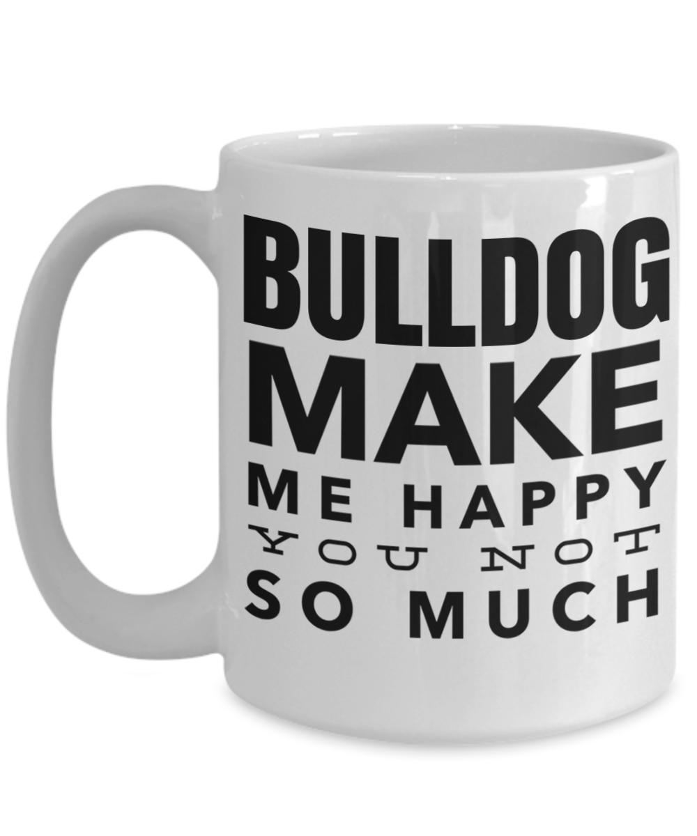 English Bulldog Lovers Gifts Funny Coffee Mugs For Mom