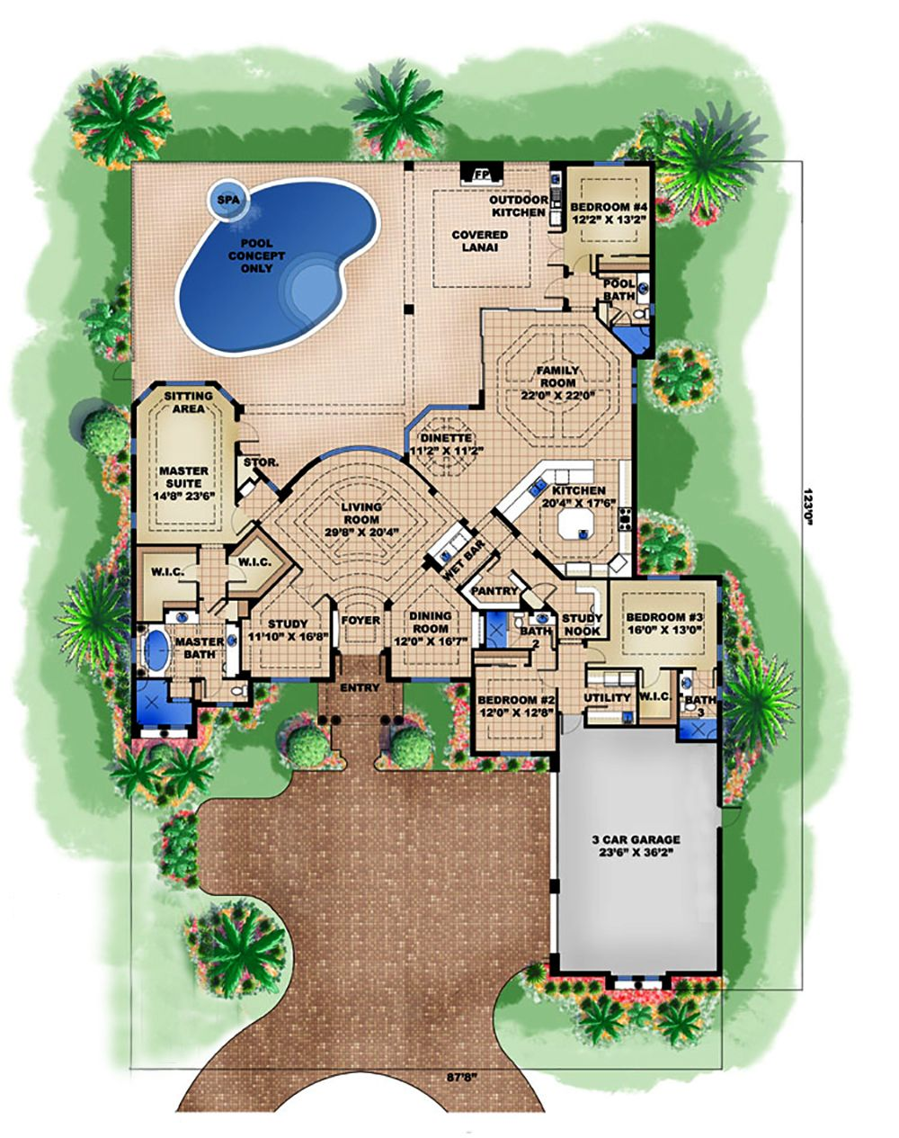 I Am In Love With This Floor Plan And Is It Wrong That I Can Already Imagine The Way I Would Decorate For Ch House Floor Plans Garage Floor Plans How