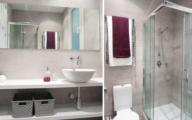 Distribución de baños cuadrados | Espacios y decoracion ...