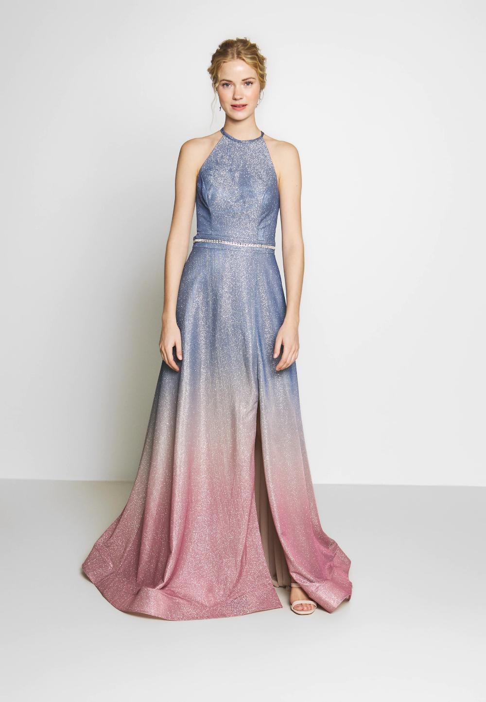Ballkleid - blaugrau/rosé @ Zalando.de 🛒 in 18  Luxuar fashion
