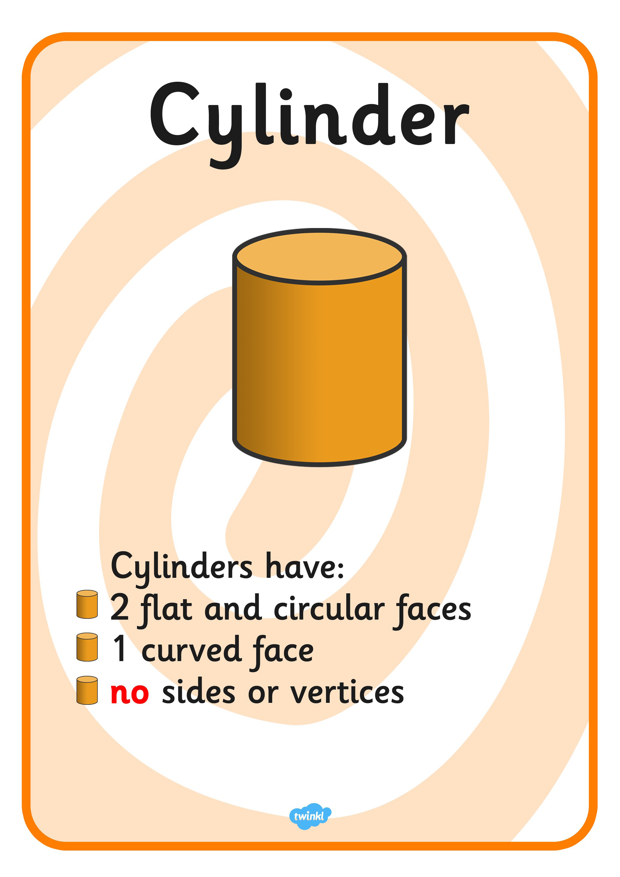Image Result For How Many Faces Does A Cylinder Have In 3d