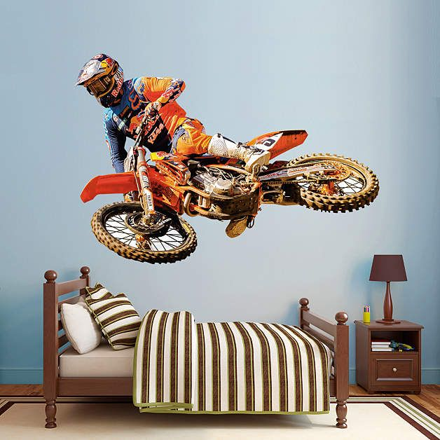 ryan dungey - life-size officially licensed removable wall decal in