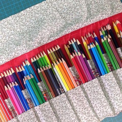 diy pencil bag porta lapis de cor estojo tecido pesquisa google penpencil