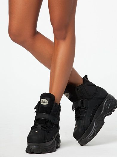 a1044ca6f8ef 1348 - 14 - Buffalo - Black - Everyday Shoes - Shoes - Women - Nelly.com Uk