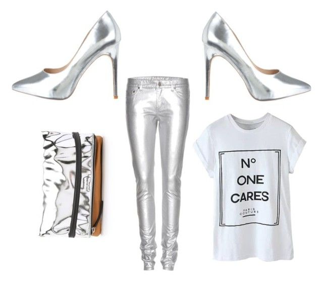 """Metallic"" by gonnadressyouup on Polyvore"
