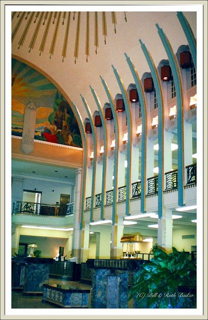 Inside Of The Lincoln Bank Tower In Fort Wayne In An Immaculate