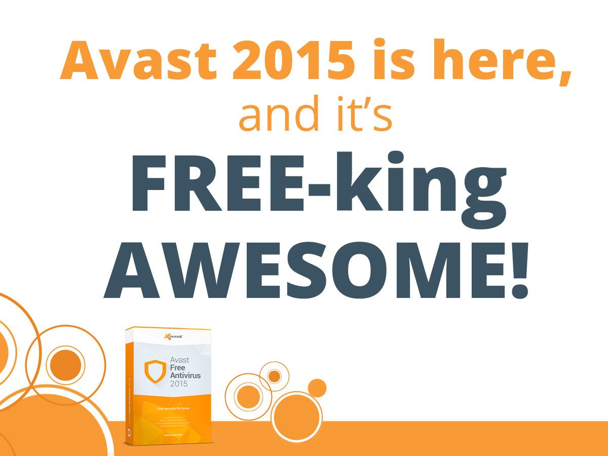 FREE Avast Antivirus 2015!  Hurry Offer ends in 2 Days!