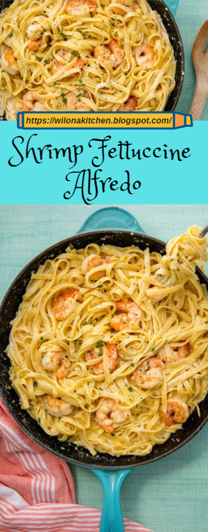 Shrimp Fettuccine Alfredo #shrimpfettuccine Shrimp Fettuccine Alfredo #shrimpfettuccine