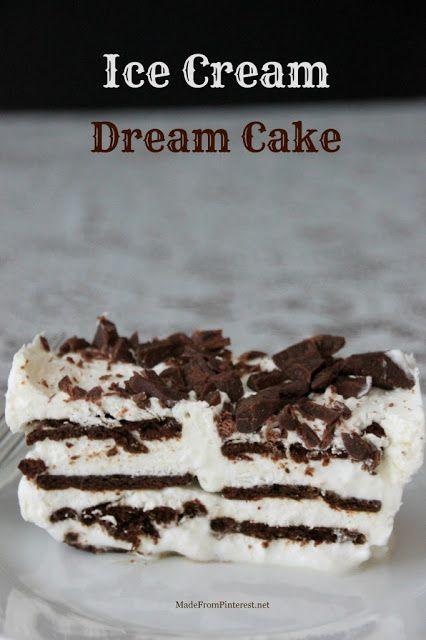Ice Cream Dream Cake