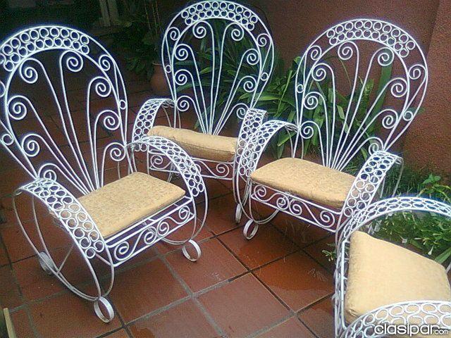 Imagenes de sillones de hierro buscar con google for Sillones para jardin exterior