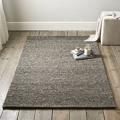 Hampton Looped Wool Rug Biscuit From The White Company