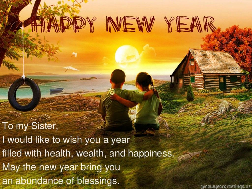 Happy new year greeting card 2014 new year greeting card for sisters happy new year greeting card 2014 new year greeting card for sisters download new year greetings kristyandbryce Images