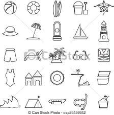 Image result for beach images line drawing