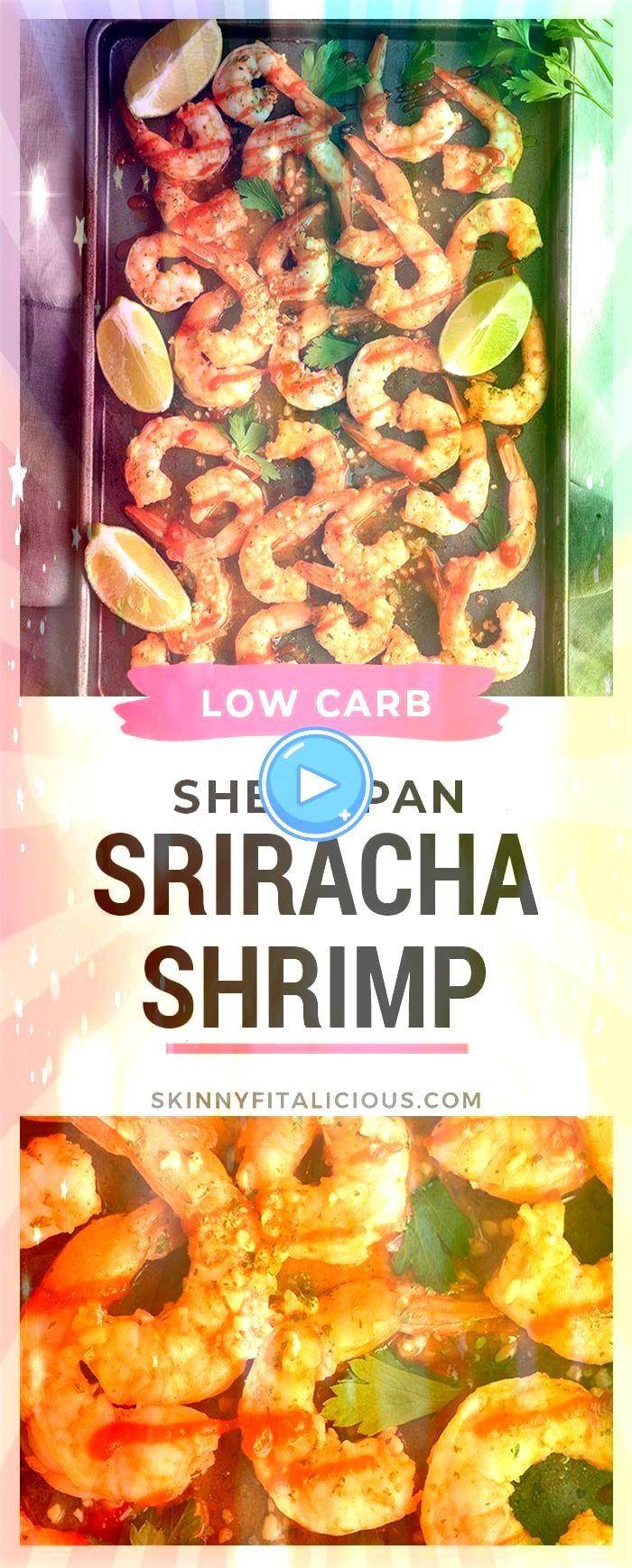 Sriracha Shrimp hat zwei Möglichkeiten Zarte Garnelen in Knoblauch Limette   Kalorienarme Rezepte Spicy Sriracha Shrimp hat zwei Möglichkeiten Zarte Garnelen in...