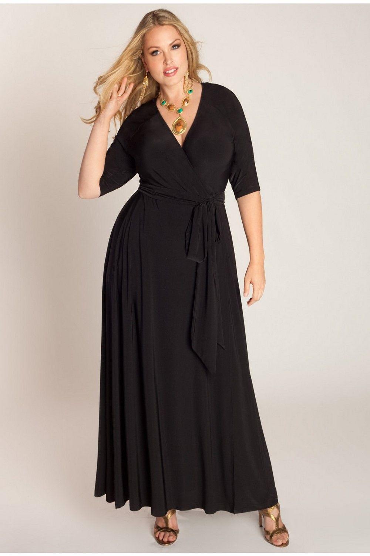 Mangolino Dress Md59 Buyuk Beden Abiye Elbise 40 60 Siyah Elbise Wrap Elbise The Dress