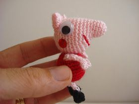 Amigurumilacion : Mini peppa pig amigurumi patrón gratis en español aquí: http